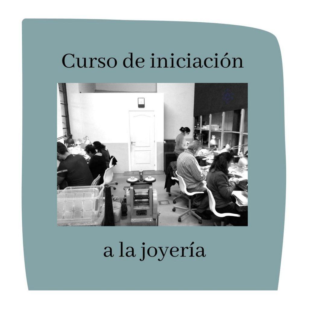iniciación a la joyería curso Asturias
